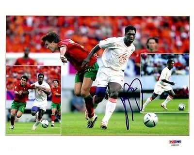 Clarence Seedorf Authentic Autographed Signed 8x10 Photo AC Milan PSA/DNA