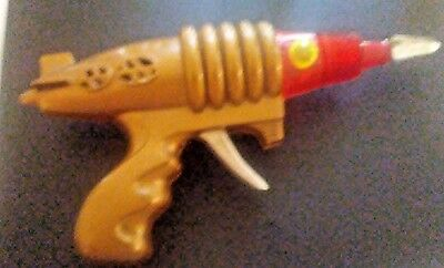 RARE Vintage Plastic RAY GUN Outer Space Pistol Toy -  1950s!