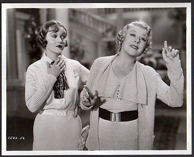 PATRICIA ELLIS & MARY BOLAND Here Comes the Groom 1934 VINTAGE ORIG PHOTO DBW