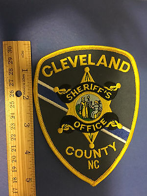Cleveland County  North Carolina Sheriff  Shoulder Patch