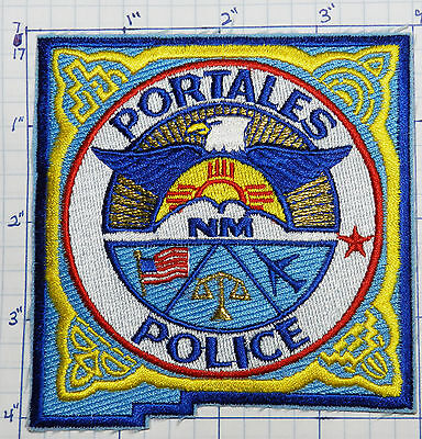 New Mexico, Portales Police Dept Eagle Patch