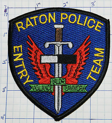 New Mexico, Raton Police Entry Team Patch