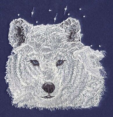 Embroidered Long-Sleeved T-Shirt - Winter Wolf M1238 Sizes S - XXL