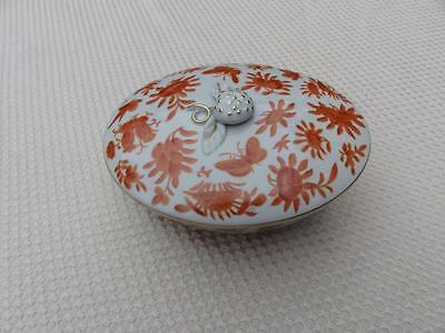 Mottahedeth Dinnerware Historic Charleston Sacred Birds & Butterflies Candy Box