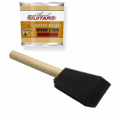 "2"" Sponge Applicator Brush for Guitar Stains and Top Coats"