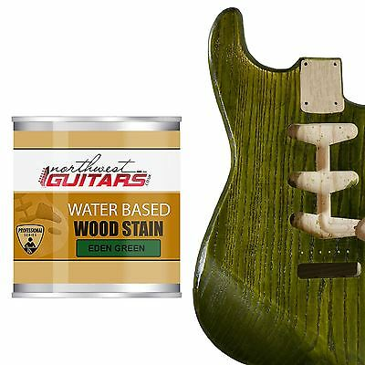 Northwest Guitars Water Based Wood Stain - Eden Green - 250ml