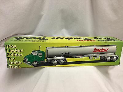 1995 Sinclair Toy Tanker Truck Lights And Sound Limited Edition