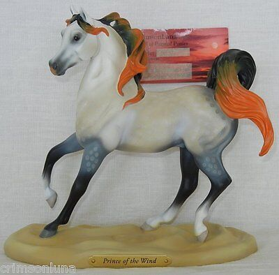 PRINCE OF THE WIND 1E 0422 NEW 2015 Arabian Beauty & Grace Trail Painted Ponies