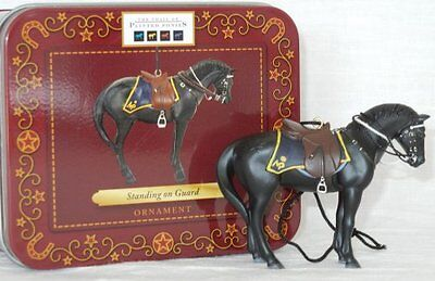 """Standing On Guard ORNAMENT 2.5"""" Tall 2012 Trail of Painted Ponies RCMP Christmas"""