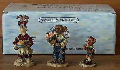 Boyds Bearly-Built Villages~ACCESSORIES~~BAILEY'S COZY COTTAGE~Town Bear Cabin