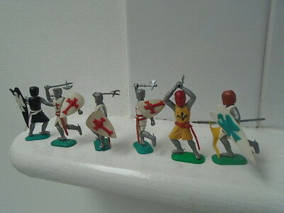 Vintage Timpo Knights And Crusaders