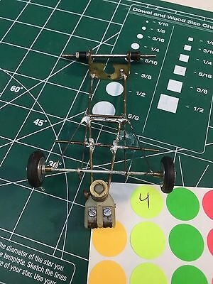 #4 Brass and wire F-1 chassis 1/24 slot car from Mid-America Naperville