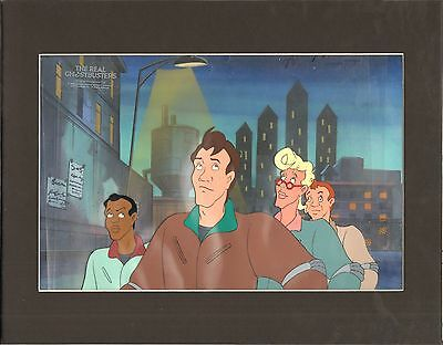 Real Ghostbusters All four DIC production animation art cel 2*
