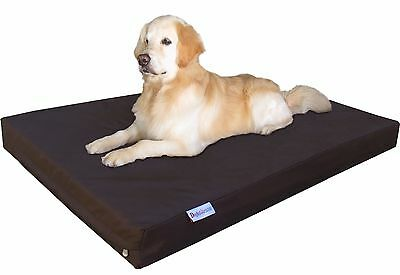 1680 Ballistic Waterproof Memory Foam Pet Bed Medium Extra Large Dog Dogbed4less