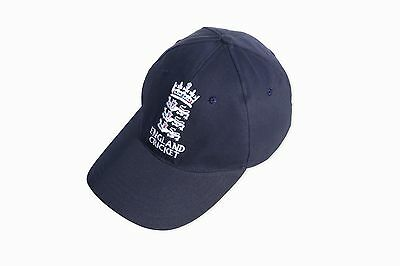 High Quality Cricket Baseball Style Cap With England Logo Adults Adjustable