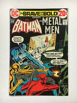 Brave and the Bold #103 VF-  DC comic Batman 1972 Metal Men