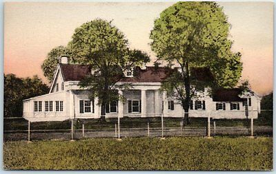 Claymont, DE Postcard NAAMAN'S-on-DELAWARE Restaurant Roadside Hand-Colored