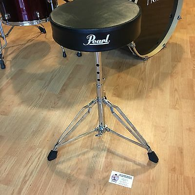 New Pearl Drum Throne - Nice Quality Adjustable Drummers Stool