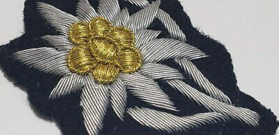WWII WW2 German Elite hand embroidered sewn Edelweiss patch