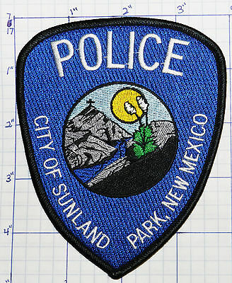 New Mexico, Sunland Park Police Dept Patch