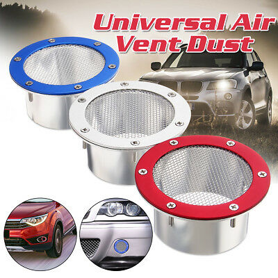 Universal Car Racing Air Duct Grille Bumper Vent Inlet Fits For Cold Air Intake