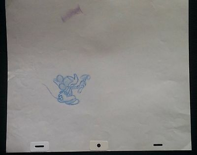 Mickey Mouse Animation MICKEY MOUSE Production Drawing Walt Disney Careers #27