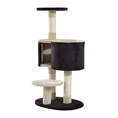 "Cat Tree 39""H Pet Kitten Furniture Condo Scratching Post Climb Tower Bed House"