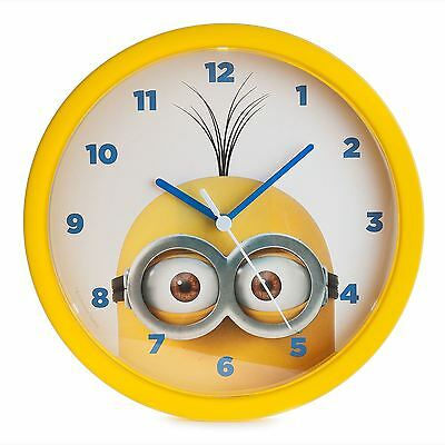 Despicable Me Minions Large Wall Clock New Official Kids