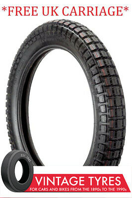 350-18 3.50-18 Motorcycle Trials Tyre Ensign 350X18