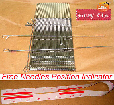 SK155 SK890 New Needles For Singer Silver Reed Knitting Machine Main Bed