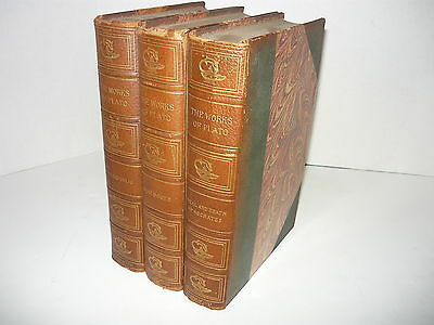 The Works Of Plato,leather,3Vol,limited Deluxe Ed.dialogues,the Republic,trial