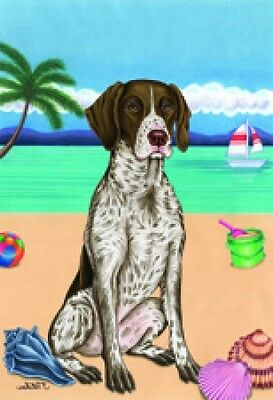 Garden Indoor/Outdoor Summer Flag (TP) - German Shorthaired Pointer 690491