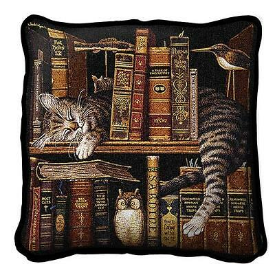 """17"""" x 17"""" Pillow - Frederick the Literate 801"""