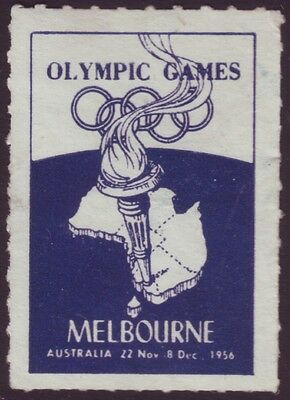 1956 Olympics - Cinderella Issue (First I Have Seen) Unused (A8482)