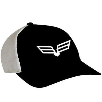 Bad Boy Off Road Trucker Bird Logo Mesh Back Cap - Polyester & Cotton - Black