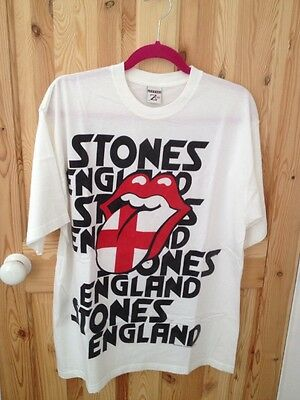 Rolling Stones England Tour Vintage Tee Shirt 2003 With Official Catalog