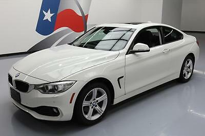 2015 BMW 4-Series Base Coupe 2-Door 2015 BMW 428I XDRIVE AWD SUNROOF HTD SEATS NAV 19K MI #246173 Texas Direct Auto