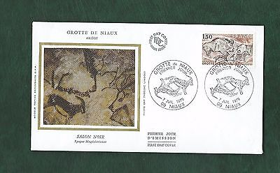 Collection of Archaeology Related stamps on 9 FDCs/Cards Algeria France Swiss et
