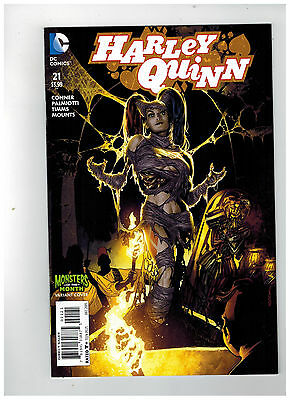HARLEY QUINN #21  1st Printing - Monsters of the Month Variant  / 2015 DC Comics
