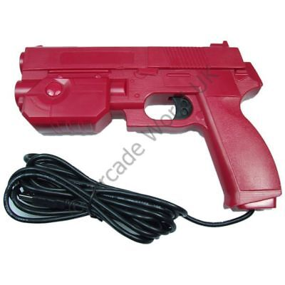 Ultimarc AimTrak Red Arcade Light Gun With Line Of Sight Aiming With Recoil