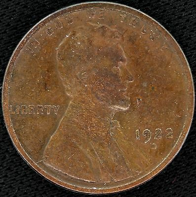 1922 D Lincoln Wheat Cent Penny 1C (1)