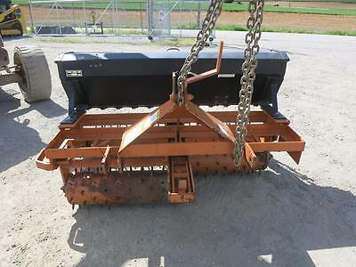 Woods STR 60 Seeder For Tractors, 60''Wide, 3 Point Hook Up, Spiked Cultipackers