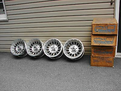 Vintage Nos Shelby Carroll Vx Vane Wheels 15X7 5 Bolt 4.5 4.75 Bc General Lee Gm