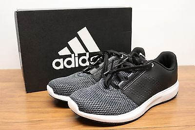 Adidas Men's Madoru 2 Running Shoes Black Grey White Size 8 NEW -1751