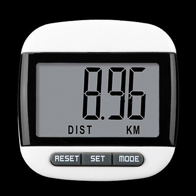 Portable LCD Run Step Pedometer Calorie Counter Walking Distance Counter OZ