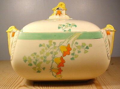 "Burleigh Ware Art Deco ""Evergreen"" Tureen (2)"