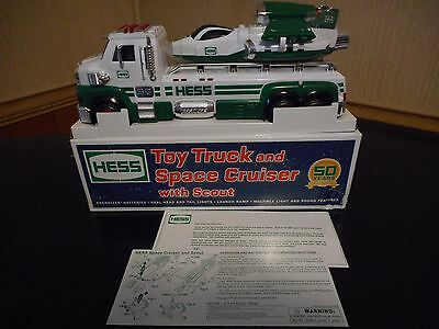 2014 Hess Toy Truck And Space Cruiser W/scout Never Removed W/box Issue