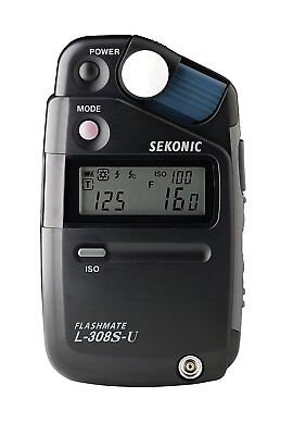 NEW Sekonic L-308S-U Flashmate Pocket Lightmeter with Exclusive 3-Year Warranty
