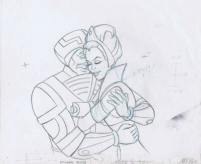 He-Man Masters of the Universe Original Production Pencil Drawing #A22214