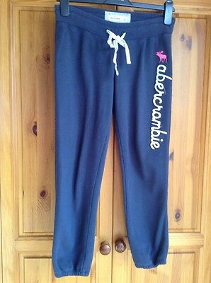abercrombie & fitch girls joggers size XL Waist 28""